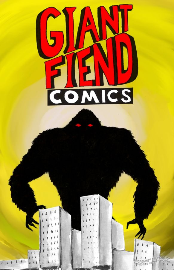 Giant Fiend minicomic by Aaron Norhanian